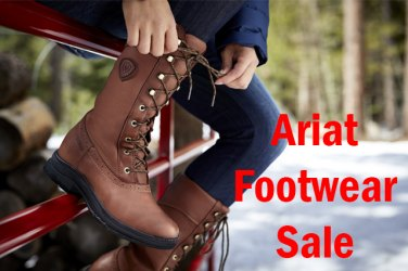 Up to £100 off Ariat Footwear!