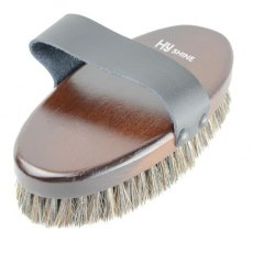 HyShine Deluxe Body Brush With Horse Hair Mixed With Pig Bristle