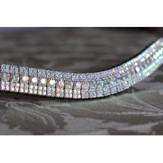 Equiture Mega Bling 18mm Curve Browband