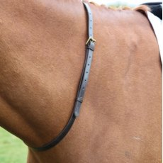 Shires Blenheim Leather Neck Strap