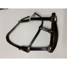 Unicorn Leatherwork Padded Leather Headcollar