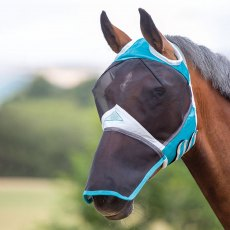 Shires Fine Mesh Fly Mask with Ear Hole & Nose