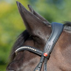 Kieffer Ultrasoft Sue Bridle (Leather Browband)