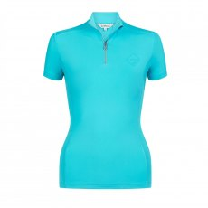 LeMieux ActiveWear Short Sleeve Base Layer - Azure