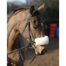 Griffin Nuumed Noseband Cover in Luxury Wool