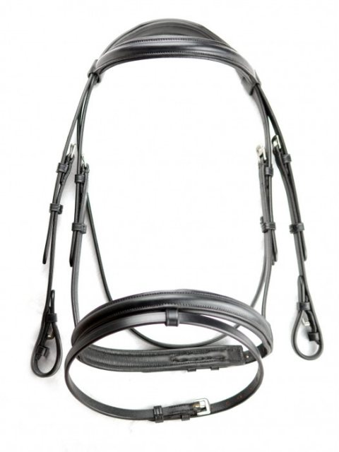 Dever Dever Plain Raised Show Bridle