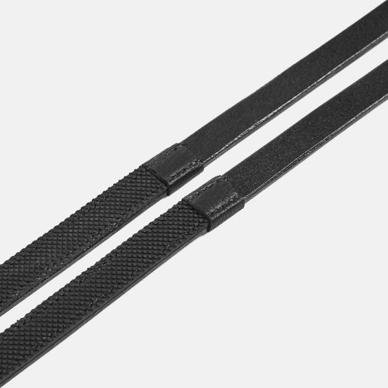 Albion Half Rubber Reins - Competition
