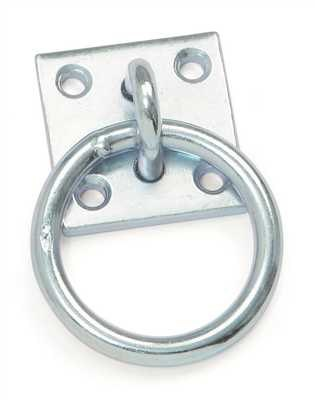 Shires Shires Tie Ring With Plate